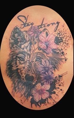 Stilmixtattoo von Stage of Art Tattoo