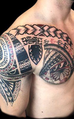 Maoritattoo von Stage of Art Tattoo